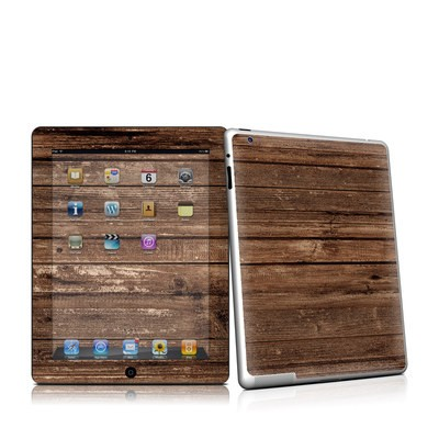 iPad 2 Skin - Stripped Wood