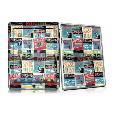 iPad 2 Skin - Surf Sounds