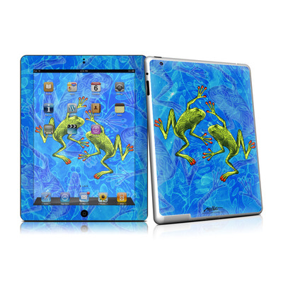iPad 2 Skin - Tiger Frogs