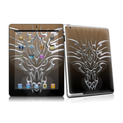 iPad 2 Skin - Tribal Dragon Chrome