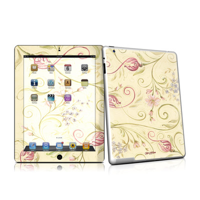 iPad 2 Skin - Tulip Scroll