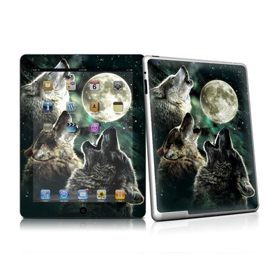 iPad 2 Skin - Three Wolf Moon