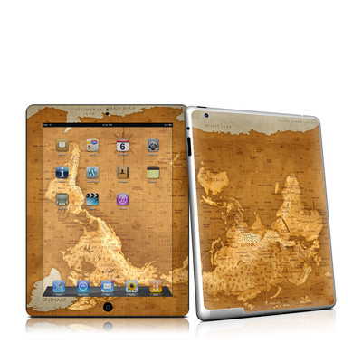 iPad 2 Skin - Upside Down Map