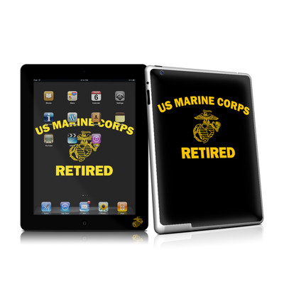 iPad 2 Skin - USMC Retired