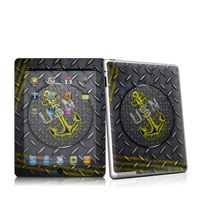 iPad 2 Skin - USN Diamond Plate