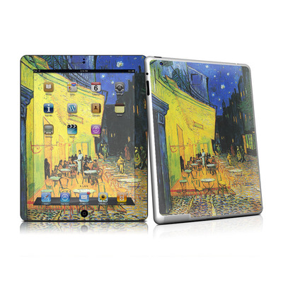 iPad 2 Skin - Cafe Terrace At Night