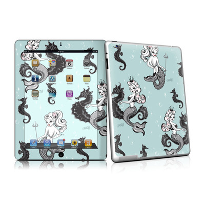 iPad 2 Skin - Vintage Mermaid