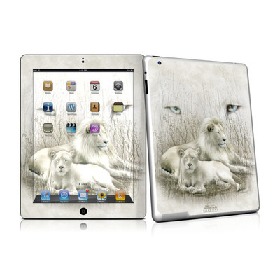iPad 2 Skin - White Lion