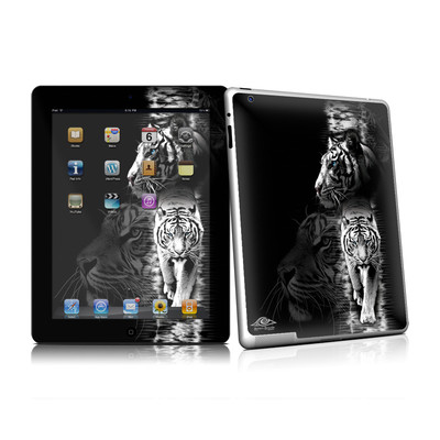 iPad 2 Skin - White Tiger