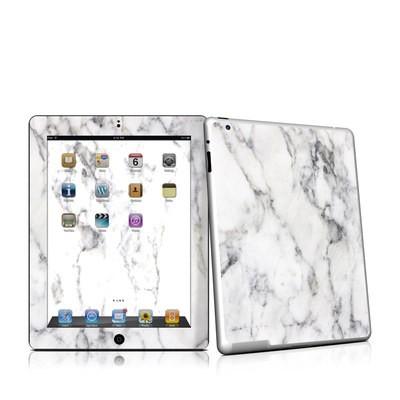 Ipad 2 skin white marble