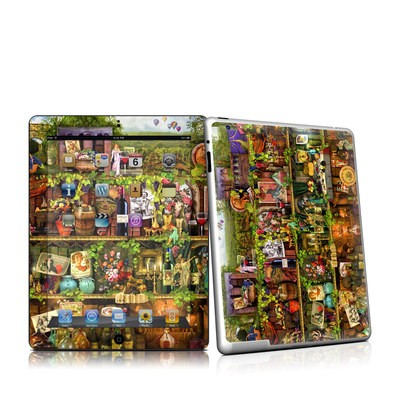 iPad 2 Skin - Wine Shelf