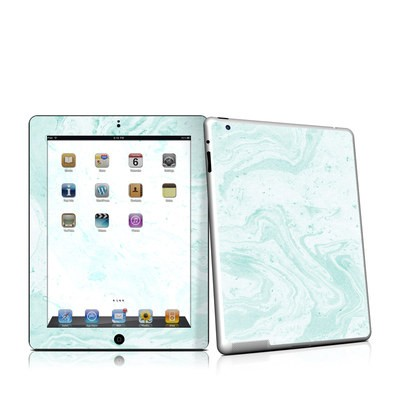 iPad 2 Skin - Winter Green Marble