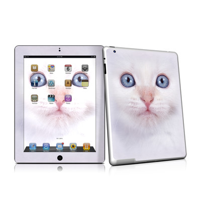 iPad 2 Skin - White Kitty