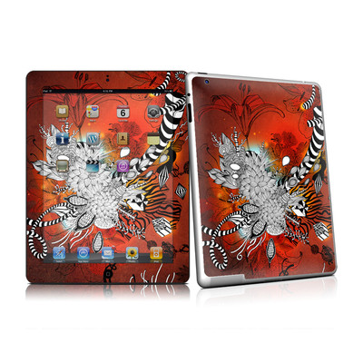 iPad 2 Skin - Wild Lilly