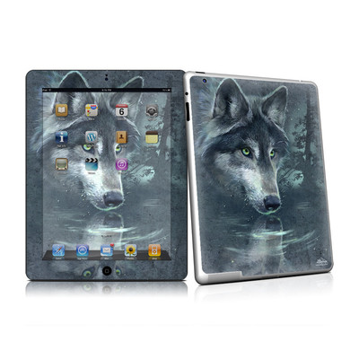 iPad 2 Skin - Wolf Reflection