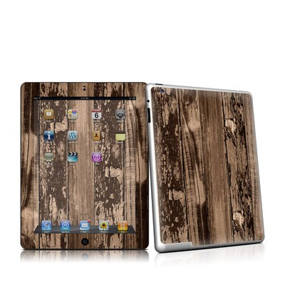 iPad 2 Skin - Weathered Wood