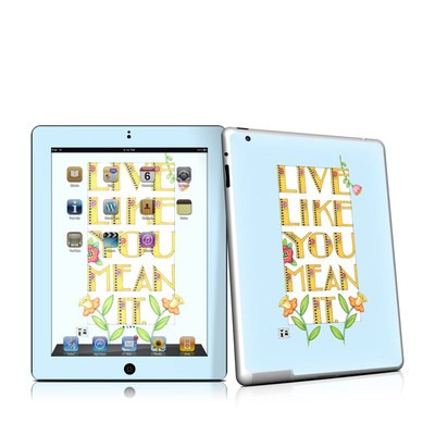iPad 2 Skin - Mean It