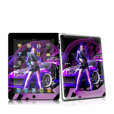 iPad 2 Skin - Z33 Purple
