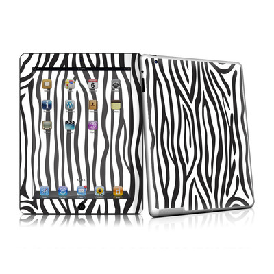 iPad 2 Skin - Zebra Stripes