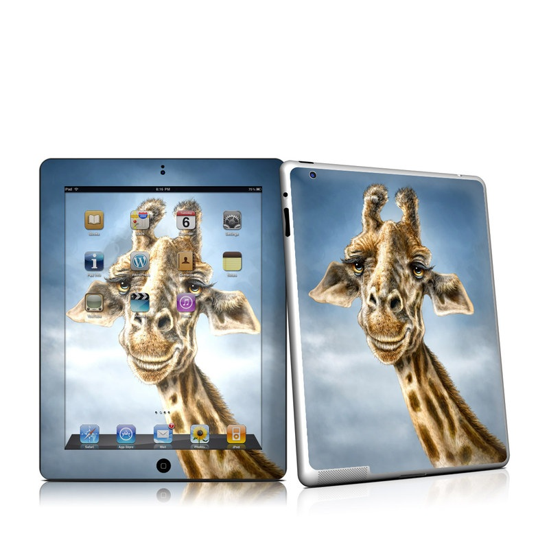Ipad 2 skin giraffe totem