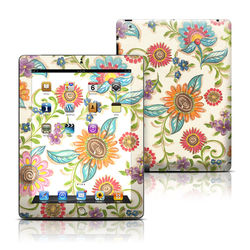 Apple iPad 3 Skin - Olivia's Garden