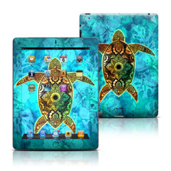 Apple iPad 3 Skin - Sacred Honu