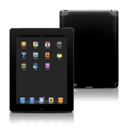 Apple iPad 3 Skin - Solid State Black