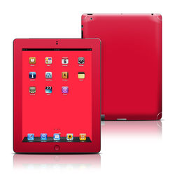 Apple iPad 3 Skin - Solid State Red