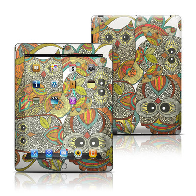 Apple iPad 3 Skin - 4 owls