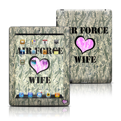 Apple iPad 3 Skin - Air Force Wife