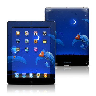 Apple iPad 3 Skin - Alien and Chameleon