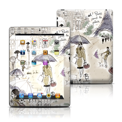 Apple iPad 3 Skin - Ah Paris