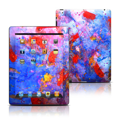 Apple iPad 3 Skin - Aqua-ese