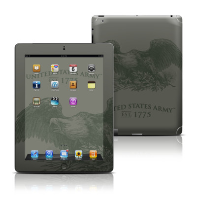 Apple iPad 3 Skin - Army Crest