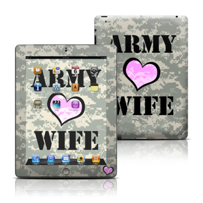 Apple iPad 3 Skin - Army Wife