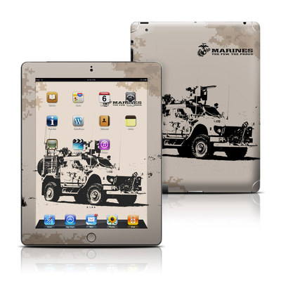 Apple iPad 3 Skin - Artillery