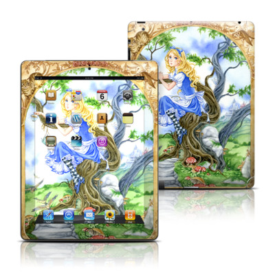 Apple iPad 3 Skin - Alice's Tea Time