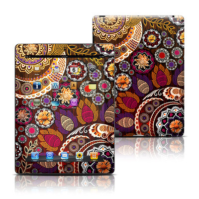 Apple iPad 3 Skin - Autumn Mehndi