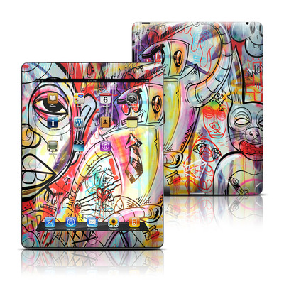 Apple iPad 3 Skin - Battery Acid Meltdown