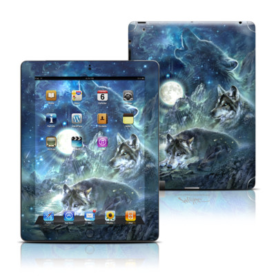 Apple iPad 3 Skin - Bark At The Moon