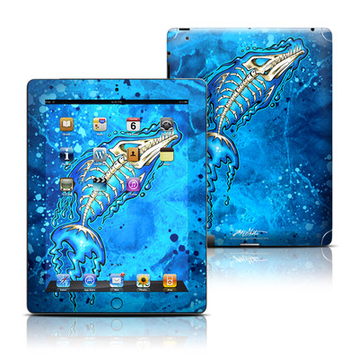 Apple iPad 3 Skin - Barracuda Bones