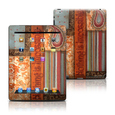 Apple iPad 3 Skin - Be Inspired