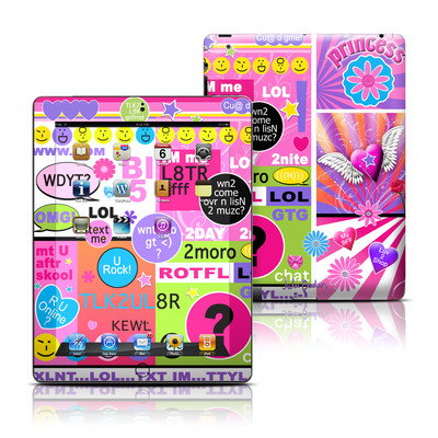 Apple iPad 3 Skin - BFF Girl Talk
