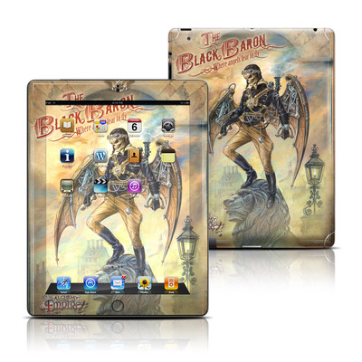 Apple iPad 3 Skin - The Black Baron