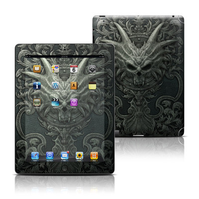 Apple iPad 3 Skin - Black Book