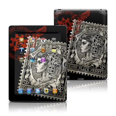 Apple iPad 3 Skin - Black Penny