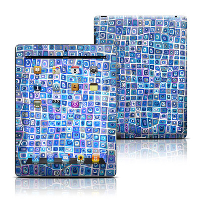Apple iPad 3 Skin - Blue Monday