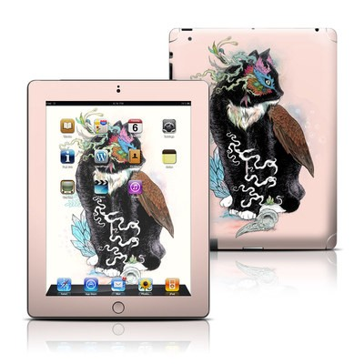 Apple iPad 3 Skin - Black Magic