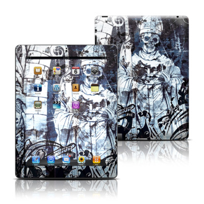 Apple iPad 3 Skin - Black Mass