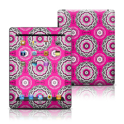 Apple iPad 3 Skin - Boho Girl Medallions